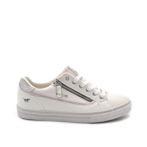 Sneaker da donna con zip laterale