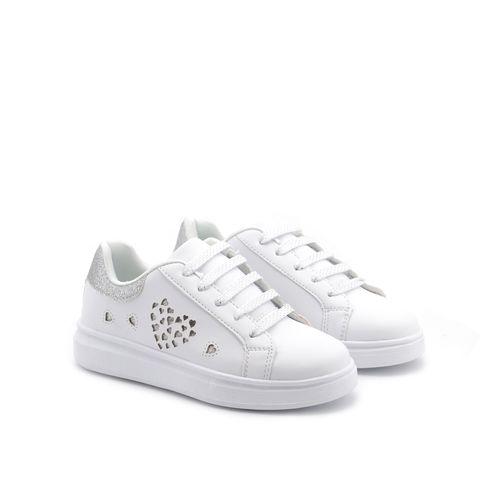 Sneaker bimba con glitter