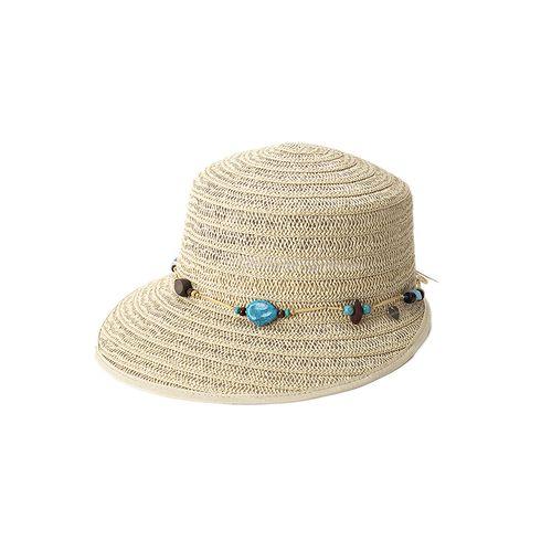 Cappello con visiera da donna
