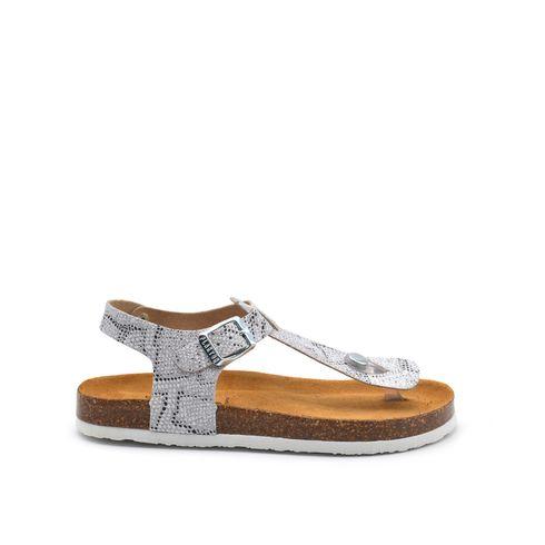 Sandalo infradito bimba con glitter