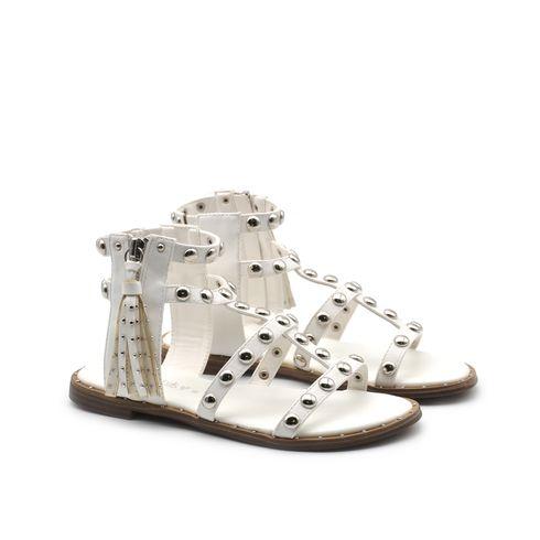 Sandalo da bimba con borchiette