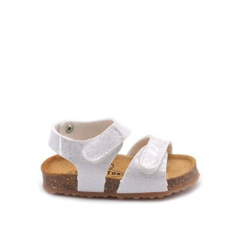 Sandalo da bimba con glitter