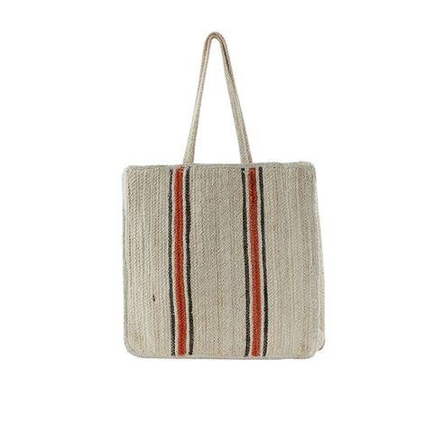 Git Shopper borsa in paglia da donna