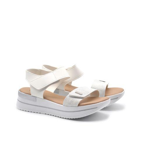 Sandalo platform da donna