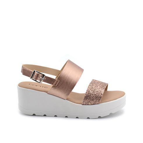 Sandalo da donna con strass