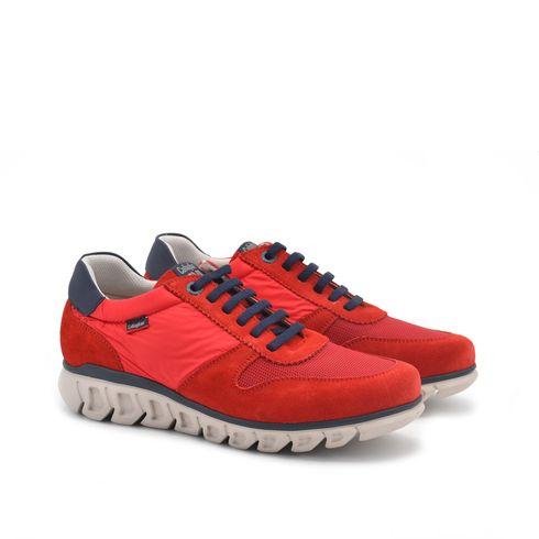Sneaker da uomo in pelle