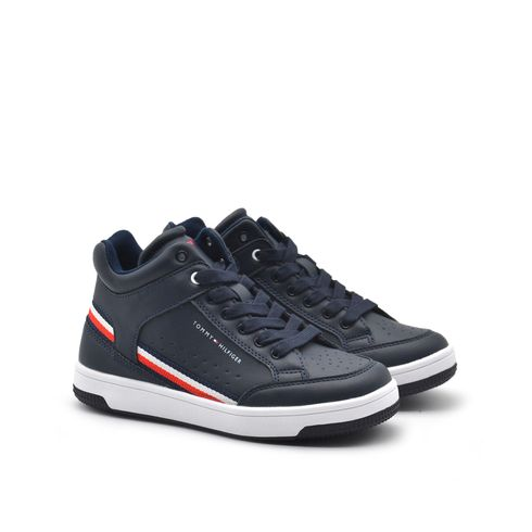 Sneaker alta con zip da bimbo