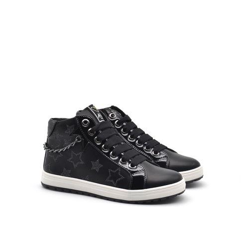 Sneaker con zip da bimba