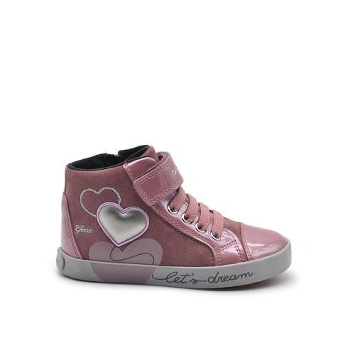 Sneaker da bimba con strass