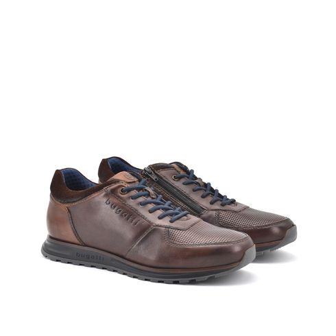 Sneaker in pelle da uomo