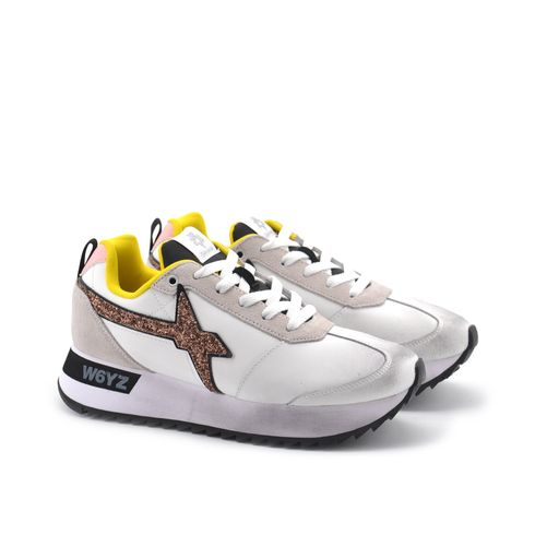 Kis W sneaker donna in vera pelle