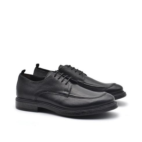 Perlar scarpa stringata in vera pelle