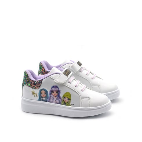 Sneaker da bimba con glitter