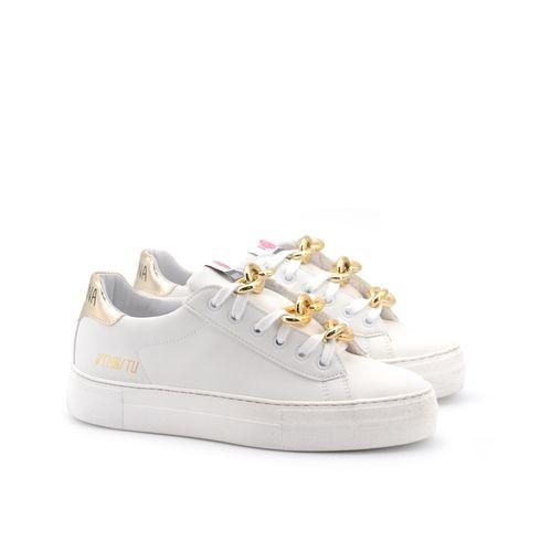 Sneaker da donna con catene