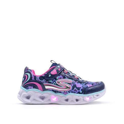 Sneaker da bimba con luci Skechers