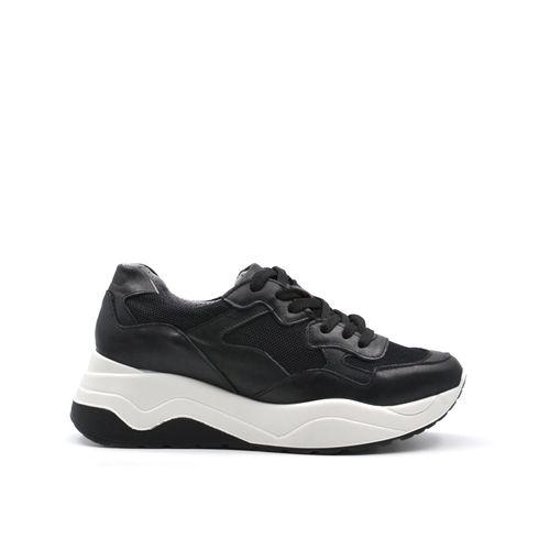 Sneaker platform donna in pelle Igi Co