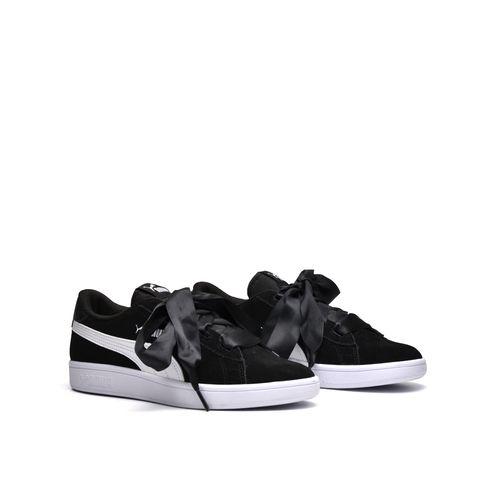 Puma Smash V2 Ribbon Jr Sneaker Ragazza