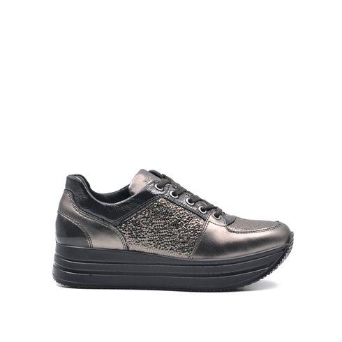 Igi&Co sneaker platform donna in pelle