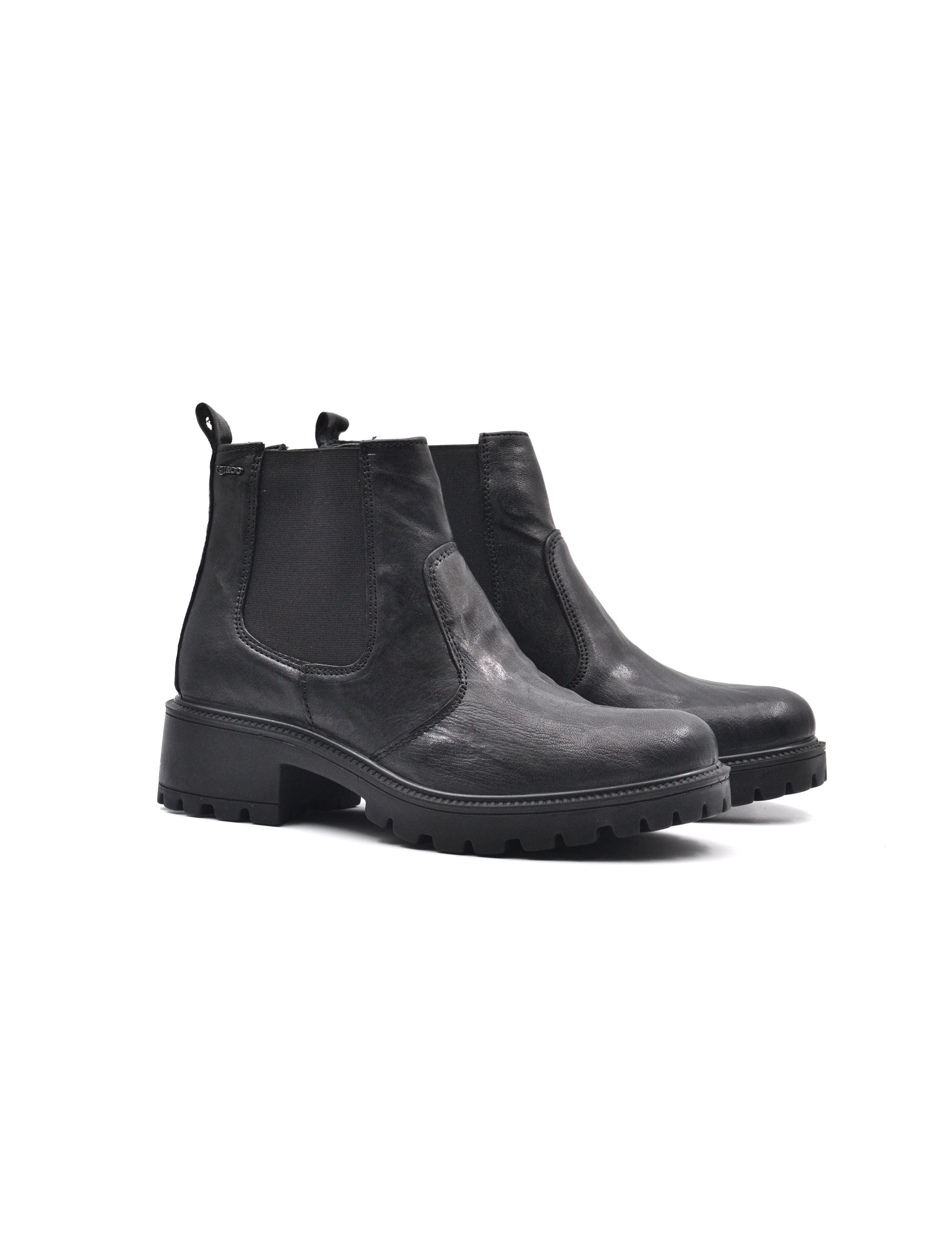 Nuove scarpe da moda IGI&CO Chelsea in pelle nera con