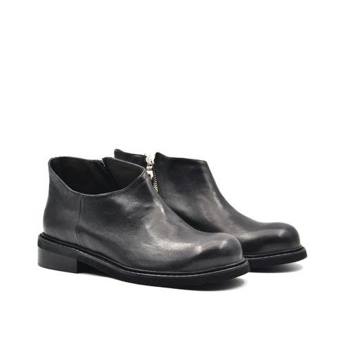 ConTé scarpa da donna in pelle con zip