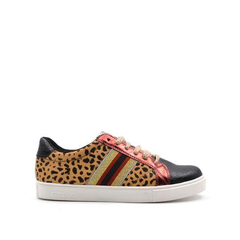 Sneaker da donna leopardata Gioseppo
