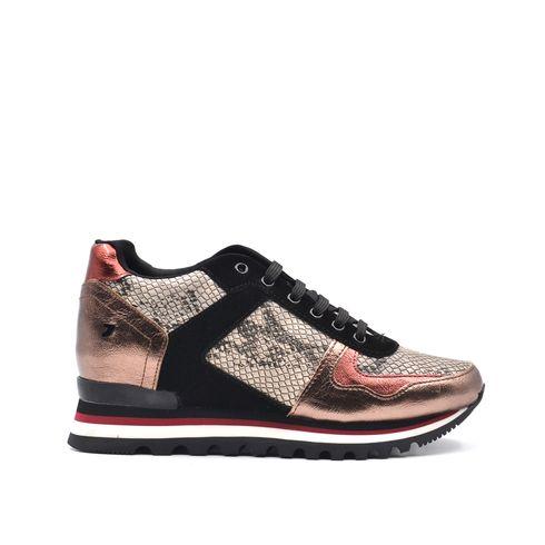 Sneaker donna zeppa interna