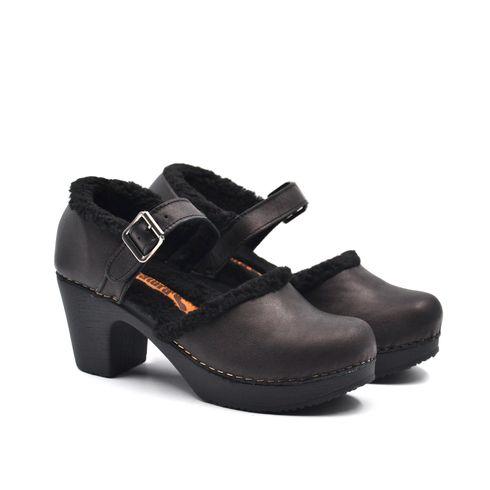 Sandalo donna in vera pelle