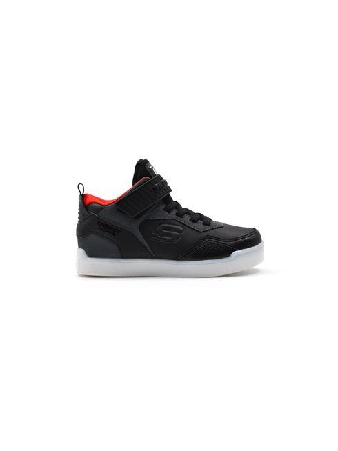 Sneaker alta da bimbo con luci Skechers