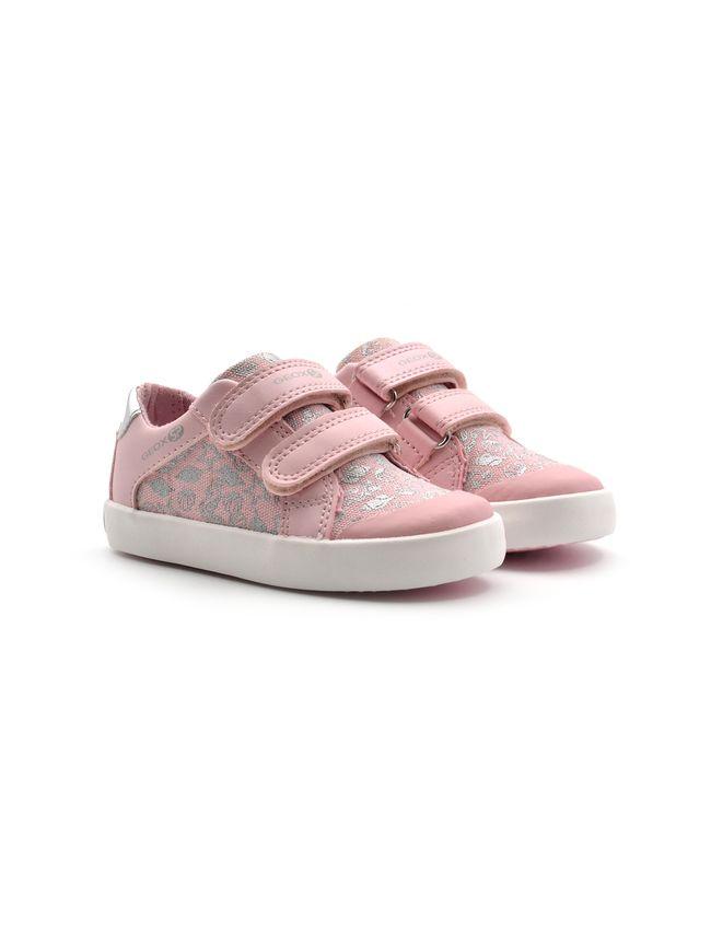 Sneaker da bimba geox b gisli g, Sneakers, colore Pink