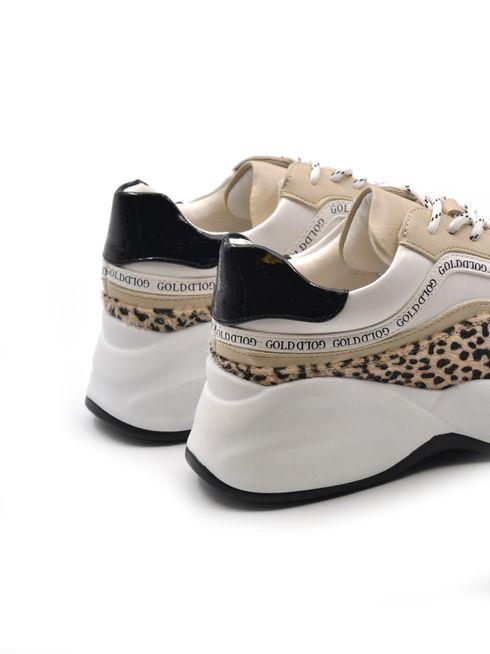 Gold&Gold sneaker maculata donna