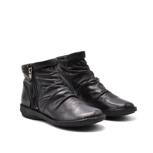 ConTé scarponcino donna pelle con zip
