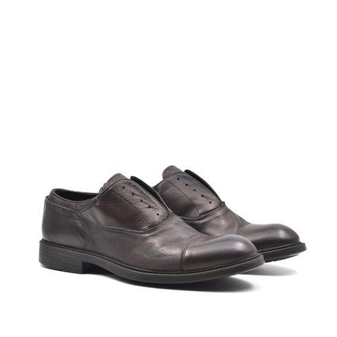 ConTé scarpe derby da uomo in pelle