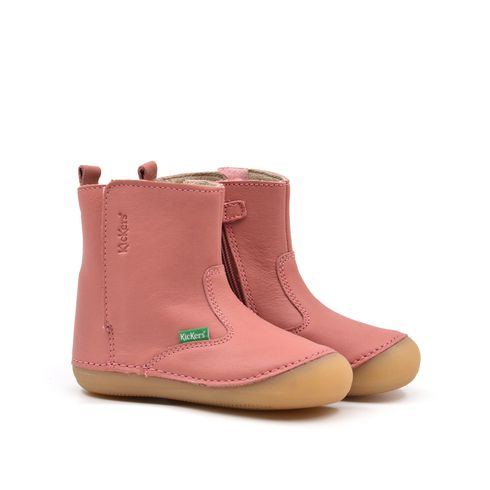 Kickers stivaletto bimba in pelle